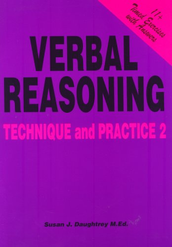 Verbal Reasoning: Technique and Practice No. 2