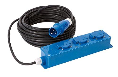Courant électrique - CEE - 3-Fois - 20 mètres