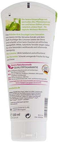 lavera Frische Kick Duschgel Bio Limone ∙ Belebt die Sinne ∙ Pflegedusche erfrischtes Hautgefühl ∙ vegan ✔ Bio Pflanzenwirkstoffe ✔ Naturkosmetik ✔ Natural & innovative 4er Pack (4 x 200 ml) - 2