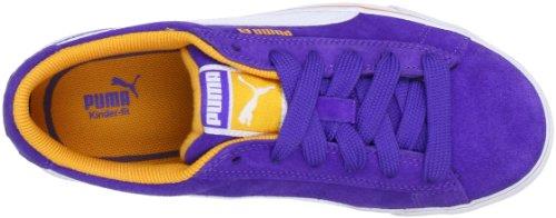 Puma Puma S Vulc Jr 350732 Unisex-Kinder Sneaker Blau (liberty blue-white-aprico 25)