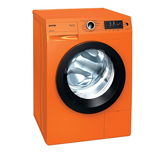 Gorenje W 8543 TO Waschmaschine FL/ A+++ / 8 kg / 1400 UpM / orange / Totaler AquaStop / SensoCare-Waschsysteme / VitaProgramme / Colour Collection