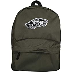 Vans Realm Backpack Mochila Tipo Casual, 42 cm, 22 Liters, Verde (Grape Leaf)