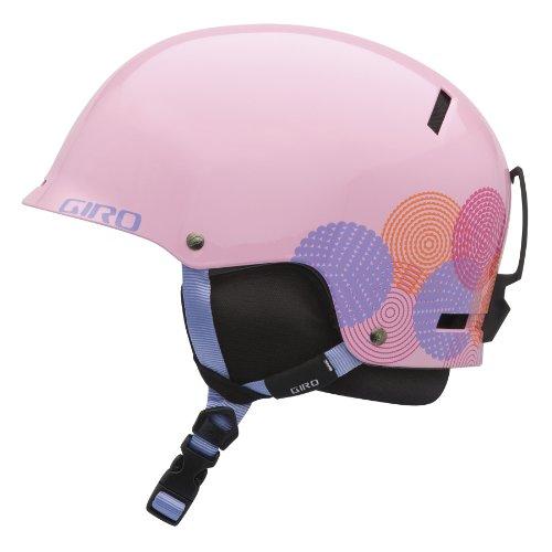 Giro Jugend Tag Snow Helm (Pink in Bloom, mittel) (Giro Ski-jugend Helm)