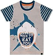 Harry Bear Camiseta de Manga Corta para niños Tiburón