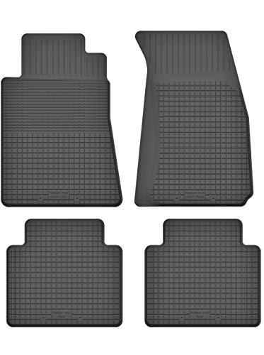 KO-RUBBERMAT Gummimatten Fußmatten 1.5 cm Rand geeignet zur ChrysIer PT Cruiser 2000-2010 ideal angepasst 4 -Teile EIN Set