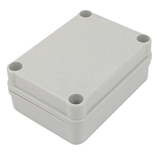 DealMux 110mm x 80mm x 45mm Plastic Waterproof Sealed Enclosure Case DIY Junction Box -