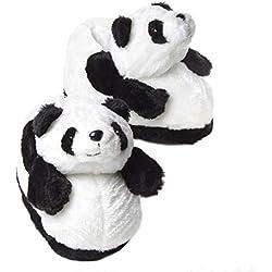 Sleeper'z - Panda - Zapatillas de casa Animales Originales y Divertidas - Adultos y Niños - Hombre y Mujer - 37/38 (M)