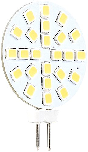 Luminea G4 LED-Lichter: LED-Stiftsockellampe mit 15 LEDs, G4 (12V), warmweiß, vertikal, 120° (LED-Leuchten mit G4-Sockeln) -