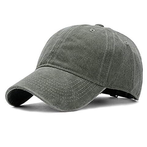 Casquette coton rétro - iParaAiluRy piscine Old Style unisexe mode broderie Loisirs réglable Hat pour les hommes et les femmes