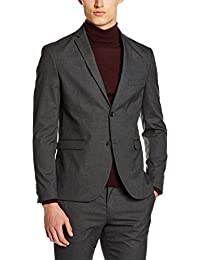 Jack & Jones Premium Jprroy Blazer Kiv23 Grey Noos, Veste de Costume Homme