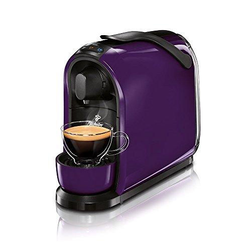 Tchibo Cafissimo Pure Kapselmaschine (für Kaffee, Espresso, Caffé Crema und Tee) (Lila, 1)