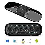 RunSnail Universal Fernbedienung, Airmouse mit Tastatur und Maus Funktion für Android TV Boxen, Smart-TV, Computer, Laptop, Projektor, HTPC, Media Player