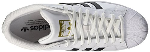 adidas Herren Pro Model Hohe Schuhe mehrfarbig (Ftwwht/Cblack/Ftwwht)