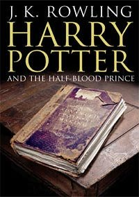 Book cover for Harry Potter and the Half-Blood Prince