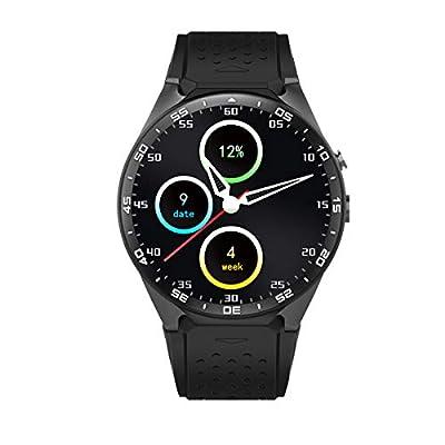 PRIXTON - Reloj Inteligente Smartwatch Hombre/Mujer con Sistema Operativo Android, Ranura SIM, GPS, Pulsometro, RAM: 512MB/ ROM: 4GB, Pulsera de Actividad Compatible con iOS/Android | SW41