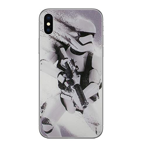 I-CHOOSE LIMITED Star Wars Case Handyhülle für Apple iPhone X/10 mit Schirmschutz/Gel/TPU/Stormtrooper Splatter
