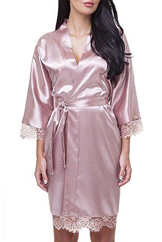 VA-Fashion - Vestaglia -  donna Marrone
