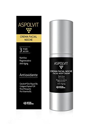 ASPOLVIT – Crema antiedad facial noche colágeno