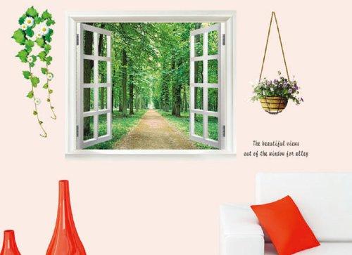 walplus-adesivo-grande-da-muro-motivo-finestra-con-vista-3d-e-piante-da-fiore-colore-verde1-dic-2011