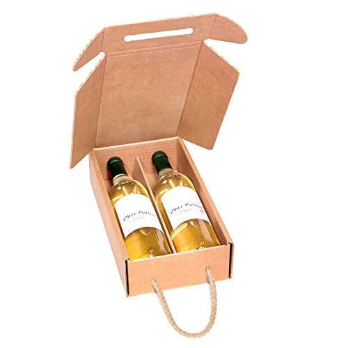 Kartox | Estuche Cartón 2 Botellas Vino | Estuche