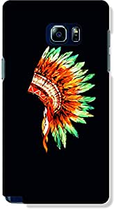 ALPHA CASE RED INDIAN Samsung Note 5 PHONE CASE
