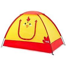dylisy Acampar al Aire Libre Tienda de campaña para niños de una Sola Capa 2-