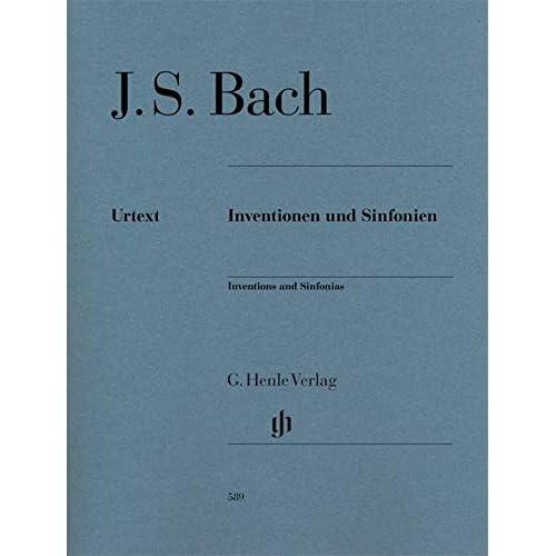 Inventions et sinfonies BWV 772 à BWV 801 (inventions à 2 et 3 voix) --- Piano