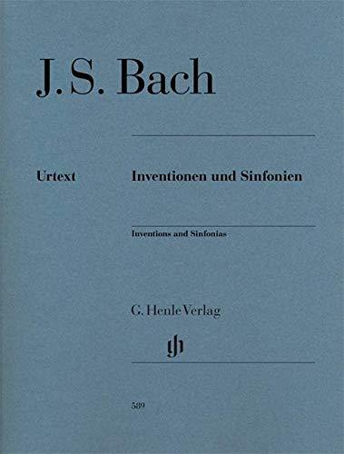 Inventions et sinfonies BWV 772 à BWV 801 (inventions à 2 et 3 voix) --- Piano par Bach Jean Sébastien