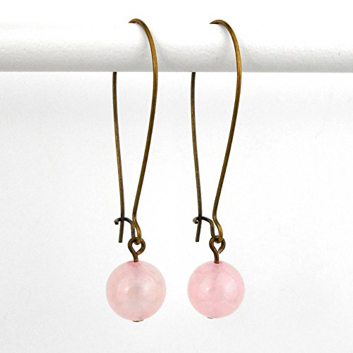 rose-quartz-earrings-in-antique-bronze-includes-gift-box