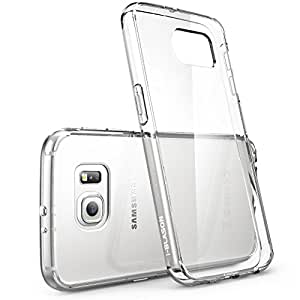 Galaxy S6 Case, [Scratch Resistant] i-Blason **Clear** [Halo Series] Samsung Galaxy S6 Hybrid Bumper Case Cover...
