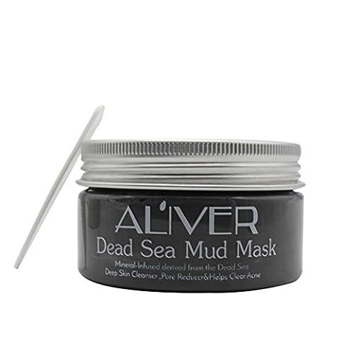 NatüRliche Tote Meer Mineral Schwarze Schlamm Maske, Huihong Tiefe Reinigung