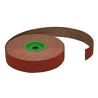 Agera Agera_401.229.100.219.17.10 Flexible Cloth Sanding Roll Grit-P 80, 50 mm x 25 m