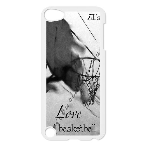 Cinese i like basket custodia su misura per ipod touch 5, diy chinese i like basketball phone case