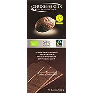 Schönenberger Tablette Chocolat Noir 54% Cacao Bio 2 x 50 g