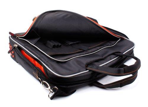 Schwarze Notebook-Tasche (15,6