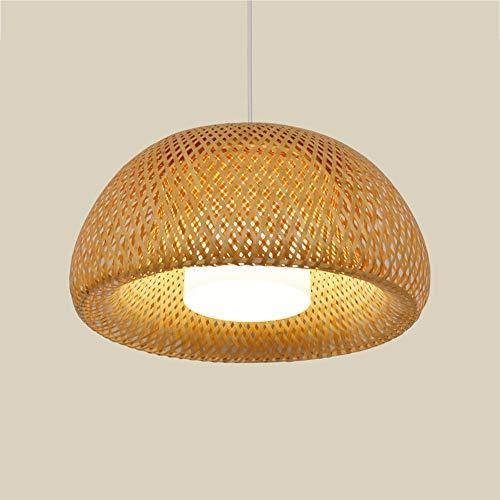 giardino cinese bambù rattan ciondolo lampada del sudest asiatico ristorante stile camera da letto balcone lampadari - illuminazione luci decorative (dimensione : 30cm-1)