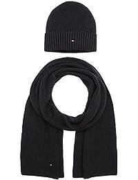 Tommy Hilfiger Pima Cotton Giftpack Geschenkset Schal und Mütze