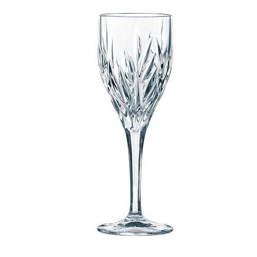 Spiegelau & Nachtmann, 4-teiliges Universal-Weinkelch-Set mit Schliffdekoration, Kristallglas, 240 ml, Imperial, 0093426-0