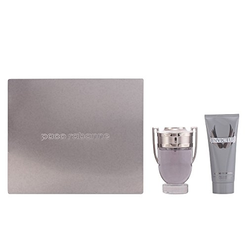 Paco Rabanne Invictus Eau De Toilette Spray 100ml Set 2 Pieces 2015