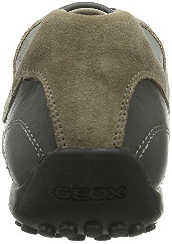 Geox  UOMO SNAKE, Baskets pour homme Gris - Grau (CHARCOAL/ROCKC9360)