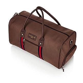 Bolsa de deporte grande de alta calidad, bolsa de viaje corto o equipaje de mano, con compartimento separado para zapatos