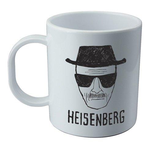 Taza y pegatina de la serie Breaking Bad - Heisenberg