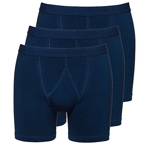 Boxershorts Herren Boxer 3-PACK BASIC COTTON (3402) Denim