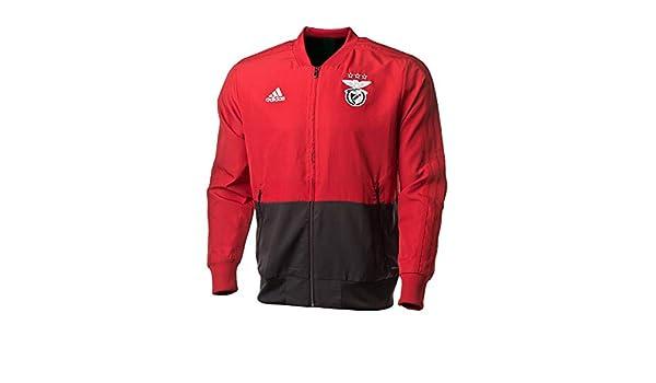 adidas SLB Pre Jkt Jacke SL Benfica, Herren, Rot (Rojpot
