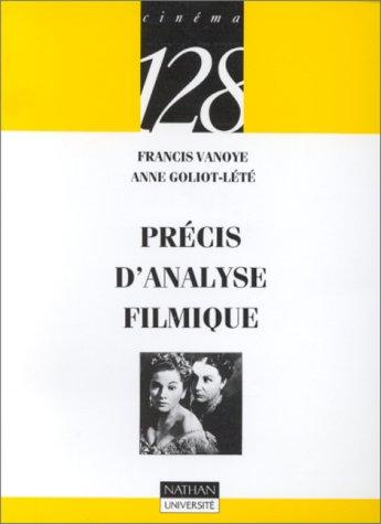 Précis d'analyse filmique par Francis Vanoye