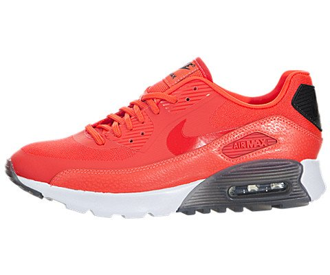 low priced f5572 6ca20 Nike Air Max 90 Ultra Essential da donna Rosso  Nero  Bianco 724981-600