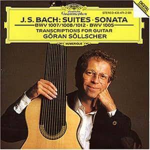Suiten 1007, -08, -12 u.a. (Gitarren)