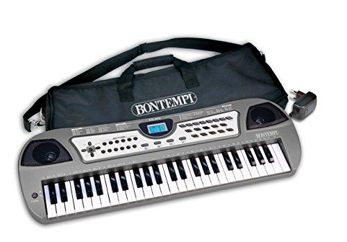 Preisvergleich Produktbild Bontempi 49MIDI Schlüssel DJ Tastatur mit Lichteffekte