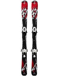 Tecno Pro Set de Esquí infantiles XT Team Jr. + NTC45/NTL75Niños Esquí, infantil, Ski-Set XT Team Jr. + NTC45/NTL75, rojo / negro / blanco, 120