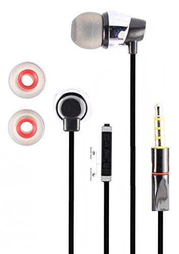 Starkwoood Earphone For Xiaomi Redmi Note 4 In the Earphone / headphone / Handfree / Headset WIth Mic / 3.5mm Jack and Original Earphone like Performance Best High Quality Sound Earphones - Color May Vary